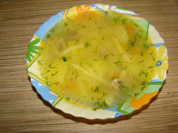 рецепт классического супа с лапшой