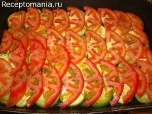 блюда из кабачков и помидоров