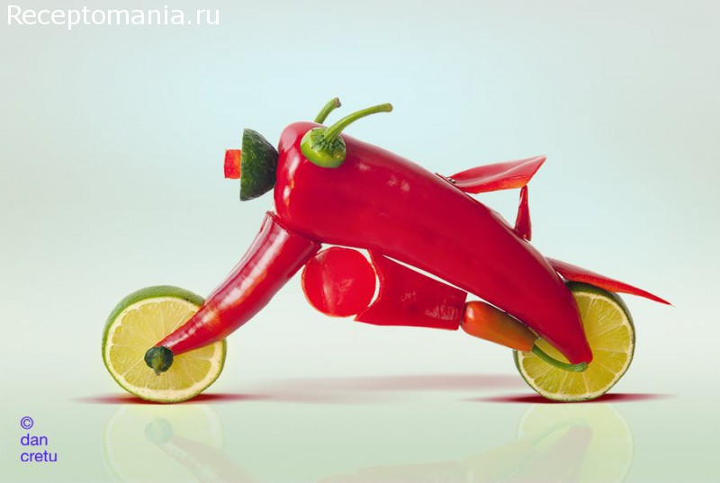дизайн и еда
