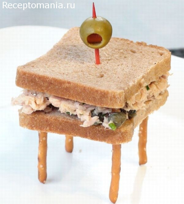 оформление бутербродов