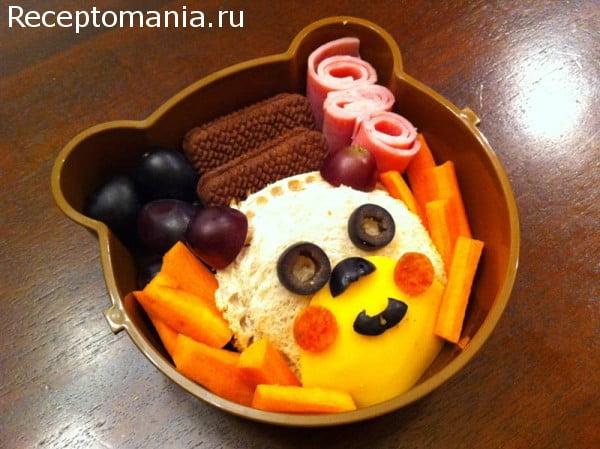 блюдо для ребенка