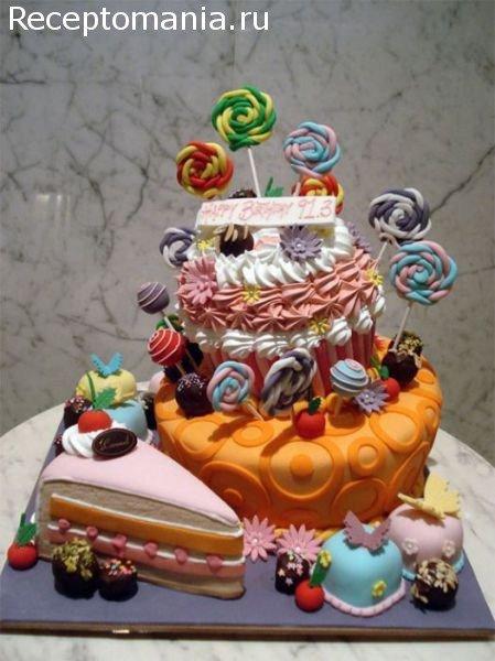 дизайн тортов