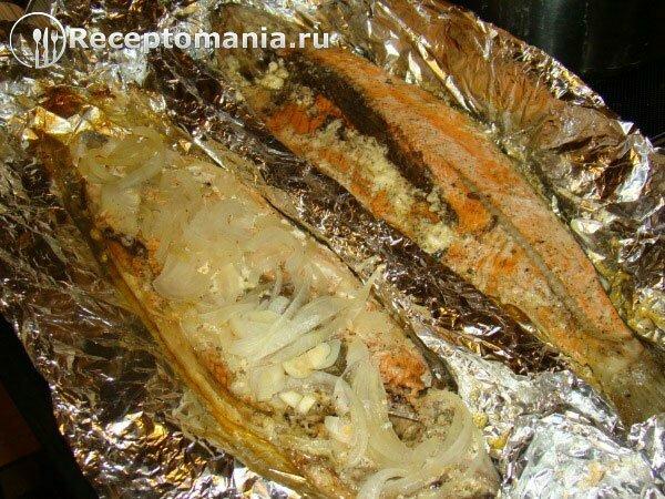 Рецепт рыба нерка запеченная в духовке