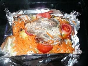 блюда из птицы в духовке