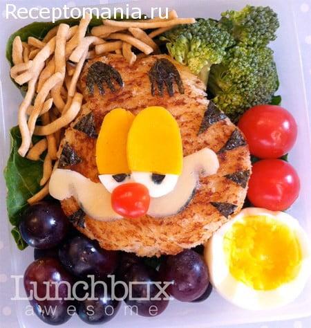 Дизайн оформление школьные обеды