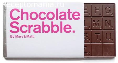 шоколадные поделки