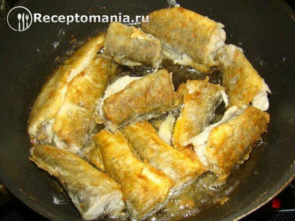 Навага в духовке рецепт пошагово
